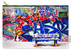 Snow And Graffiti Carry-all Pouch