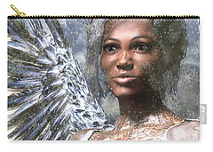 Snow Angel Carry-all Pouch by Suzanne Silvir