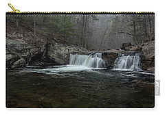 Snow At Baby Falls Carry-all Pouch