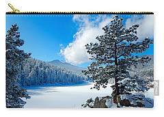 Snow At Beaver Brook Carry-all Pouch