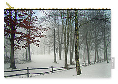 Snow Begins Carry-all Pouch by Betsy Zimmerli