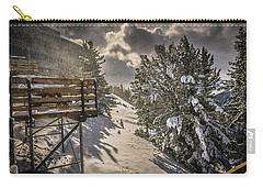 Snow Carry-all Pouch by Bill Howard
