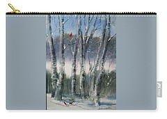 Snow Birch  Carry-all Pouch