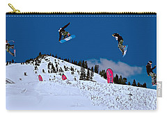 Snow Boarder Carry-all Pouch