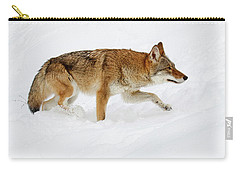 Snow Bound Carry-all Pouch by Steve McKinzie