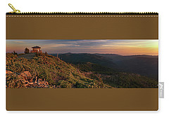 Carry-all Pouch featuring the photograph Snow Camp Lookout by Leland D Howard