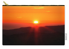 Carry-all Pouch featuring the photograph Snow Camp View 2 by Leland D Howard