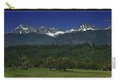 Snow Capped Mountains 2 Carry-all Pouch