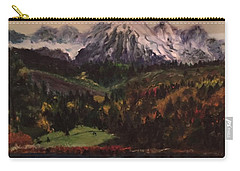 Snow Caped Mountain Carry-all Pouch