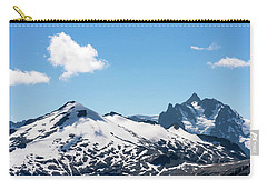 Snow-covered Peaks In North Cascades Carry-all Pouch