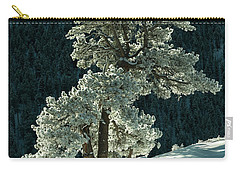 Snow Covered Tree - 9182 Carry-all Pouch
