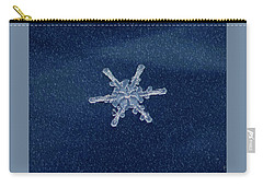 Snow Flake  Carry-all Pouch by Betty Pauwels