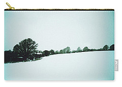 Snow In Sussex Carry-all Pouch by Anne Kotan