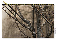 Snow In The Air - Carry-all Pouch
