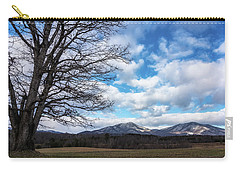 Snow In The High Mountains Carry-all Pouch by Steve Hurt