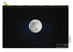 Snow Moon 4 Carry-all Pouch by Janie Johnson