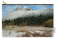 Snow On Mt. Maxwell Carry-all Pouch