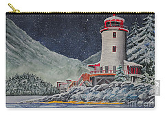 Snow On Sitka Sound Carry-all Pouch