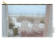 Snow On The Beach 4 Carry-all Pouch