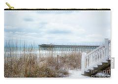 Snow On The Beach 8 Carry-all Pouch