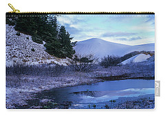 Snow On The Sand Carry-all Pouch