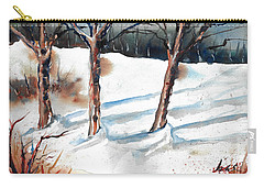 Snow Orchard Carry-all Pouch