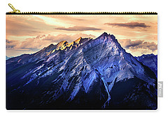 Carry-all Pouch featuring the photograph Mount Cascade by John Poon