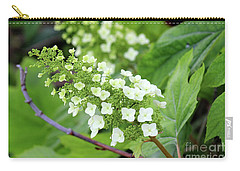 Snow Queen Hydrangea Carry-all Pouch