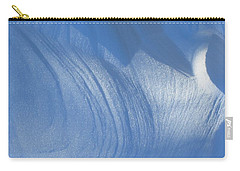 Snow Sculpted By The Wind Carry-all Pouch