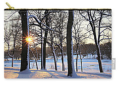 Snow Starred Grove Carry-all Pouch