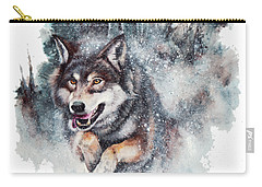 Snow Storm Carry-all Pouch