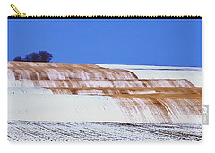 Snow Stubble Tree Line 13955 Carry-all Pouch