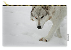 Snow Tracker Carry-all Pouch by Steve McKinzie