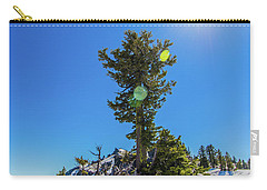 Carry-all Pouch featuring the photograph Snow Tree by Jonny D