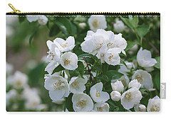 Carry-all Pouch featuring the photograph Snow White Jubilee by Kim Hojnacki