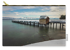Snow White Pier Carry-all Pouch by Alpha Wanderlust