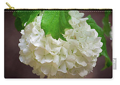 Snowball Bloom Carry-all Pouch