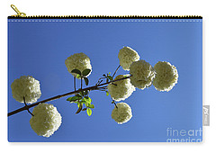 Carry-all Pouch featuring the photograph Snowballs On A Stick by Skip Willits