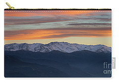 Snowcapped Miapor Range Under Golden Clouds, Armenia Carry-all Pouch