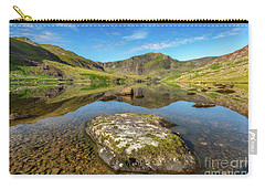 Carry-all Pouch featuring the photograph Snowdonia Mountain Reflections by Adrian Evans