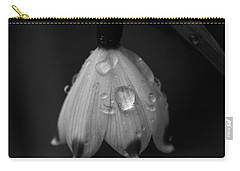 Carry-all Pouch featuring the photograph Snowdrop by Keith Elliott