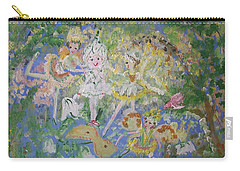Snowdrop The Fairy And Friends Carry-all Pouch by Judith Desrosiers