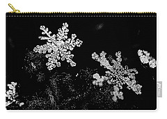 Snowflake Beauty Carry-all Pouch by Shelly Gunderson