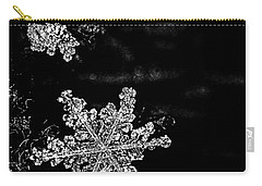 Snowflake Jewels Carry-all Pouch by Shelly Gunderson