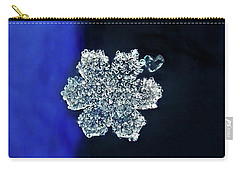 Snowflake Love Carry-all Pouch