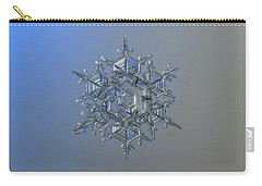 Snowflake Photo - Crystal Of Chaos And Order Carry-all Pouch