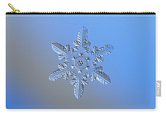 Snowflake Photo - Heart-powered Star Alternate Carry-all Pouch
