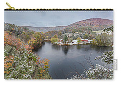 Carry-all Pouch featuring the photograph Snowliage by Bill Wakeley