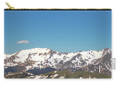 Snowtop Mountains Carry-all Pouch