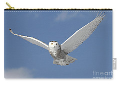 Snowy Angel Carry-all Pouch